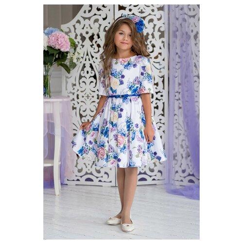 Купить Платье ALOLIKA размер 134-68-60, белый, Платья и сарафаны