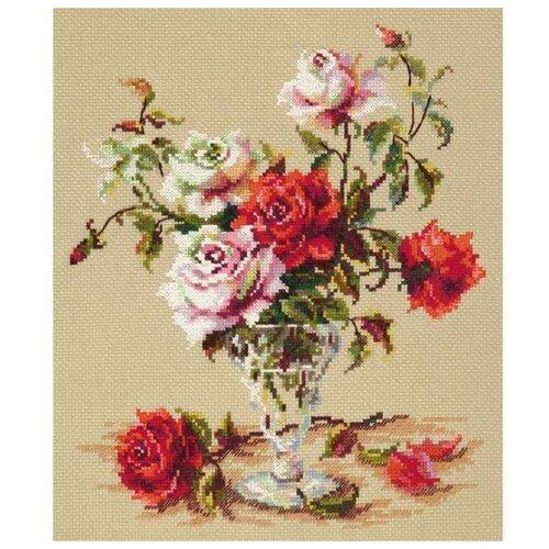 Чудесная Игла Набор для вышивания Мелодия любви 24 х 29 см (40-63) набор для вышивания крестом чудесная игла утопаю в любви 13 х 12 см