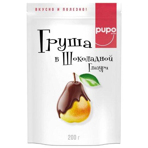 Груша Pupo, темный шоколад, 200 г