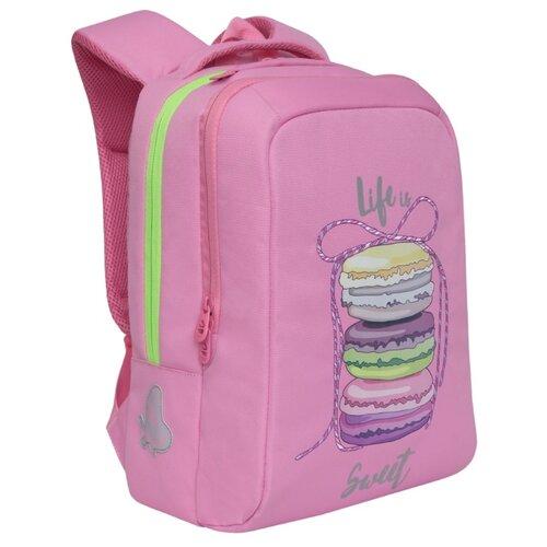 Grizzly рюкзак (RG-066-1), розовый рюкзак grizzly grizzly mp002xm23sic