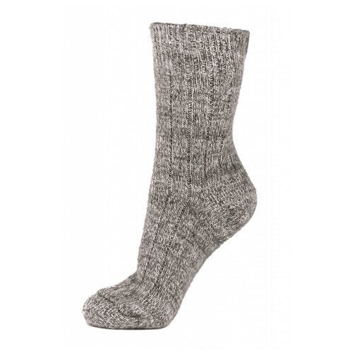 Носки FiNN FLARE W19-21140, размер L, темно-серый фото