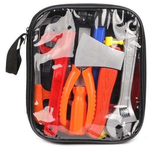 Купить Наша игрушка Набор инструментов, 9 предметов 640981, Детские наборы инструментов