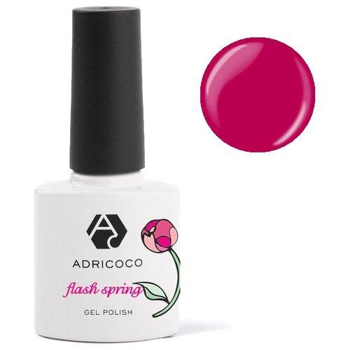 Гель-лак для ногтей ADRICOCO Flash Spring, 8 мл, 13 Спелая вишня