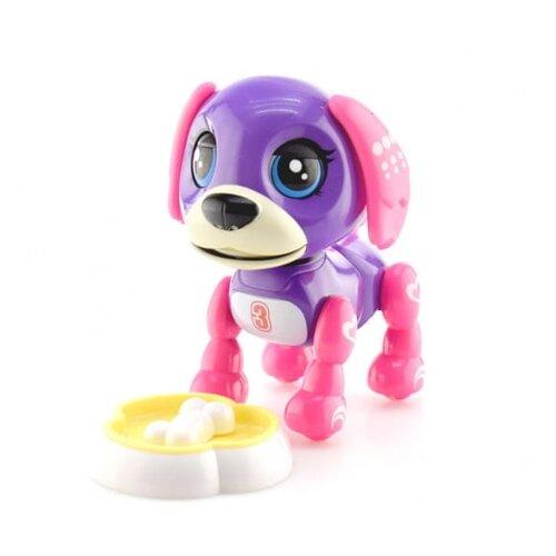 Робот S+S Toys Пёс 200289697, фиолетовый/розовый