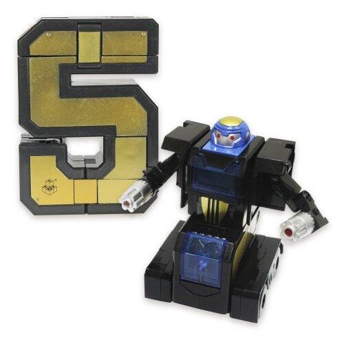 Купить Трансформер 1 TOY Трансботы XL Боевой расчет - 5 - Капитан Квинт золотистый/черный, Роботы и трансформеры