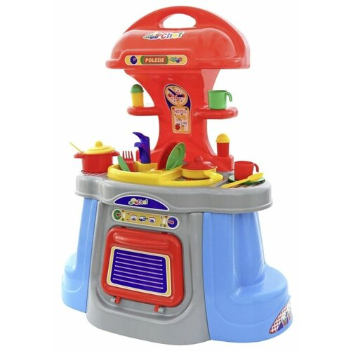 цена на Кухня Palau Toys Хозяйка 0148 красный/голубой/серый/желтый