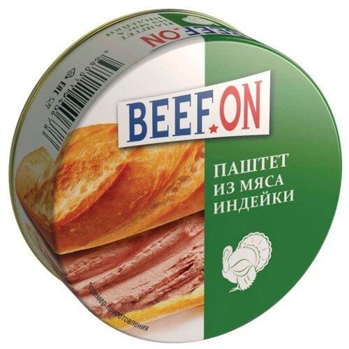 Паштет BEEF.ON из мяса индейки 70 г паштет le pere nagy риет из индейки 180 г
