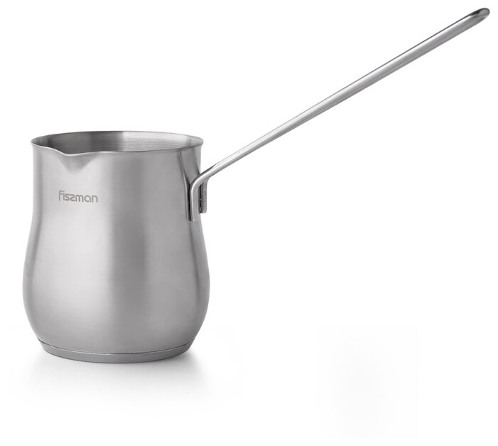 3310 FISSMAN Турка для варки кофе 550 мл с индукционным дном (нерж.сталь)