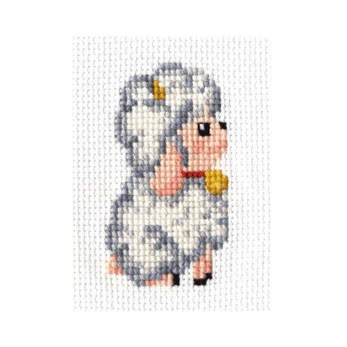 Сделай своими руками Набор для вышивания Овечка 9 х 14 см (О-01), Наборы для вышивания  - купить со скидкой