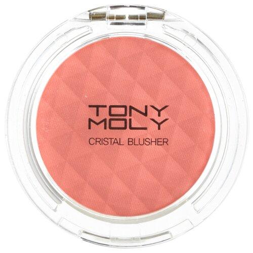 TONY MOLY Румяна Crystal Blusher 03 Pleasure Peach