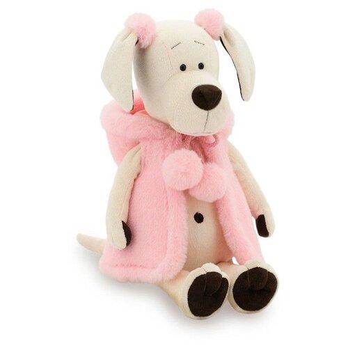 Купить Мягкая игрушка Orange Toys Собачка Лапуська Меховой стиль 30 см, Мягкие игрушки