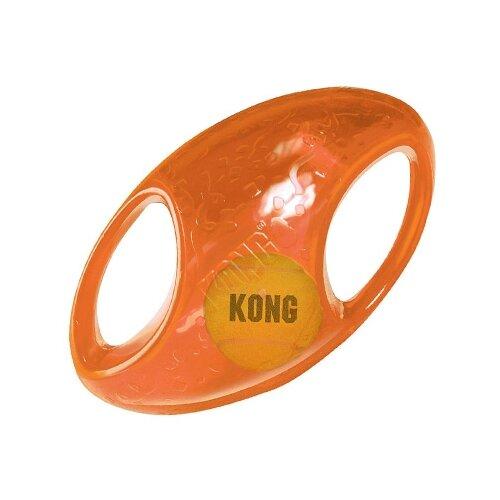 Игрушка для собак KONG джумблер регби TMF2E оранжевый