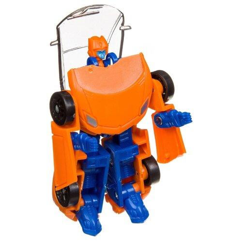 Купить Робот-трансформер BONDIBON Мы роботы, космические машины ВВ3257 оранжевый, Роботы и трансформеры