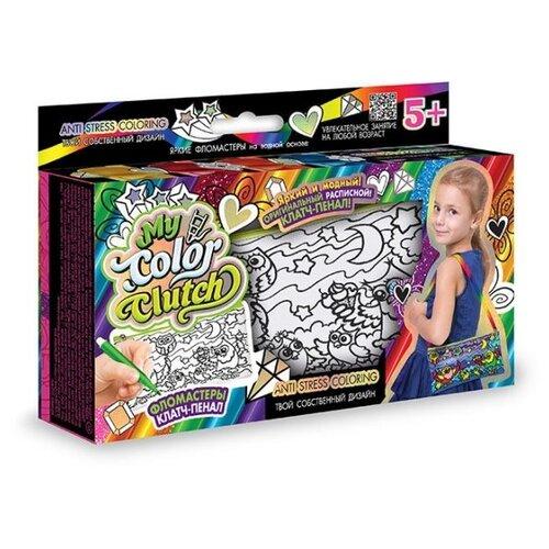 Купить Danko Toys Пенал-раскраска My Color Clutch Совы (CCL-02-03), Роспись предметов