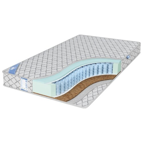 Матрас Промтекс-Ориент EcoSoft Комби 2 140x200 пружинный серебристый