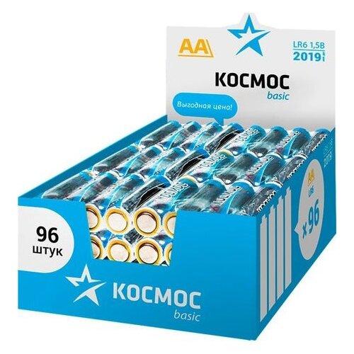 Батарейка КОСМОС LR6 Basic 96 шт картон