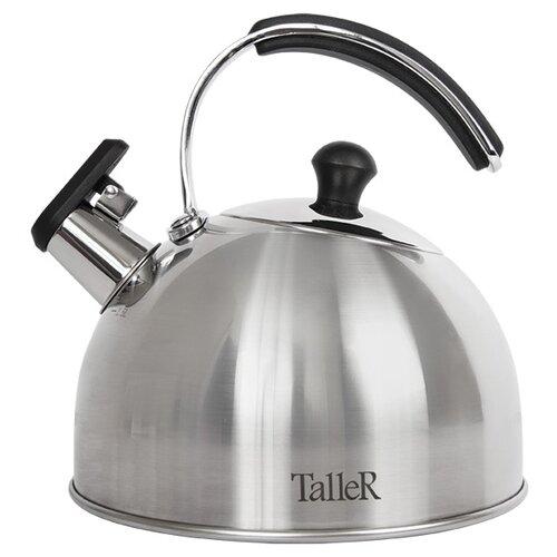 Taller Чайник Эдвин TR-1352 2,5 л стальной/черный