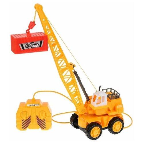 Купить Подъемный кран Технодрайв 1401E008-R желтый, Радиоуправляемые игрушки