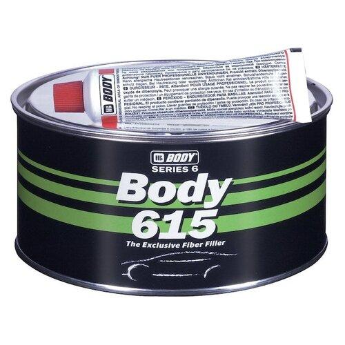 цена на Комплект (шпатлевка, отвердитель) HB BODY 615 Fiber 0.9 кг