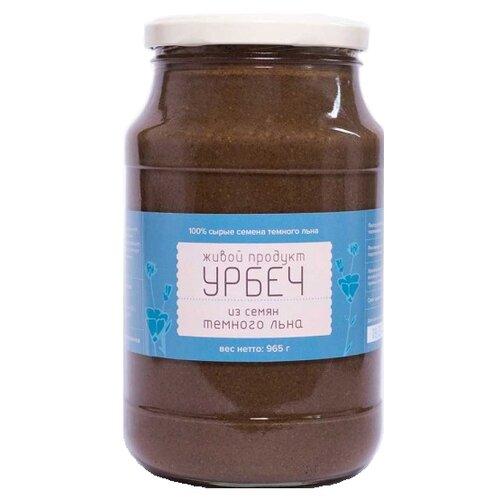 Живой Продукт Урбеч натуральная паста из семян темного льна 965 г живой а спартанец