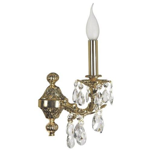 Фото - Настенный светильник Dio D'Arte Aosta E 2.1.1.200 G, 40 Вт настенный светильник dio d arte aosta e 2 1 1 600 g 40 вт