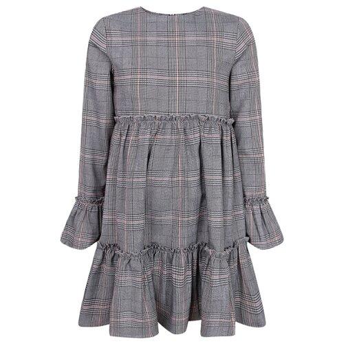 Купить Платье Mayoral размер 134, серый, Платья и сарафаны