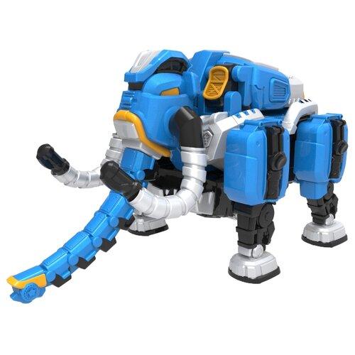 Трансформер YOUNG TOYS Metalions Mammoth Mini синий/серый трансформер young toys metalions ursa серый