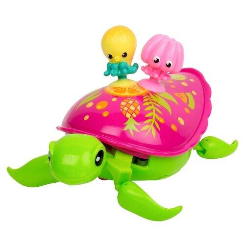 Купить Робот Moose Little Live Pets Черепашка и друзья Фрути 28561 розовый/зеленый, Роботы и трансформеры