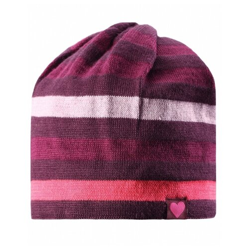 Купить Шапка Lassie размер M/4, бордовый/розовый, Головные уборы