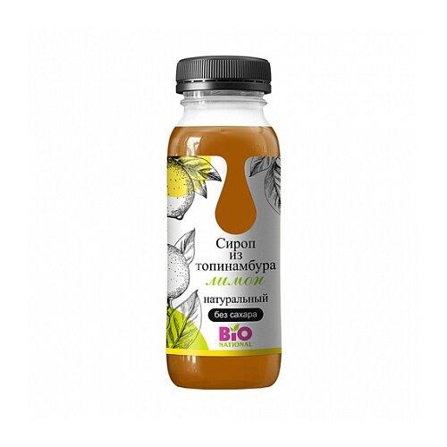 BIO National Сироп топинамбура с лимоном жидкость 250 мл