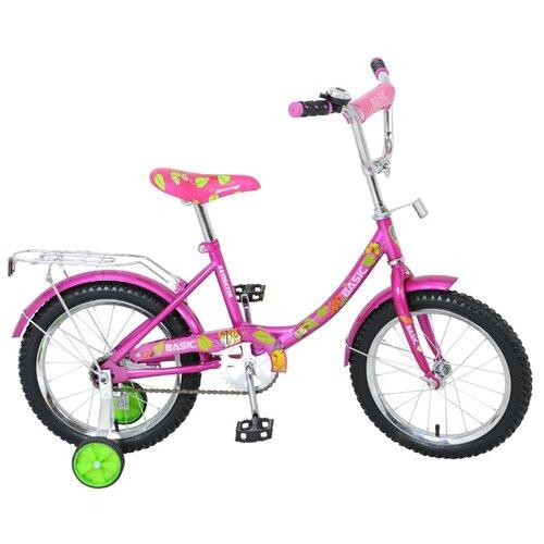 Детский велосипед Navigator Basic (BH16071) розовый (требует финальной сборки)