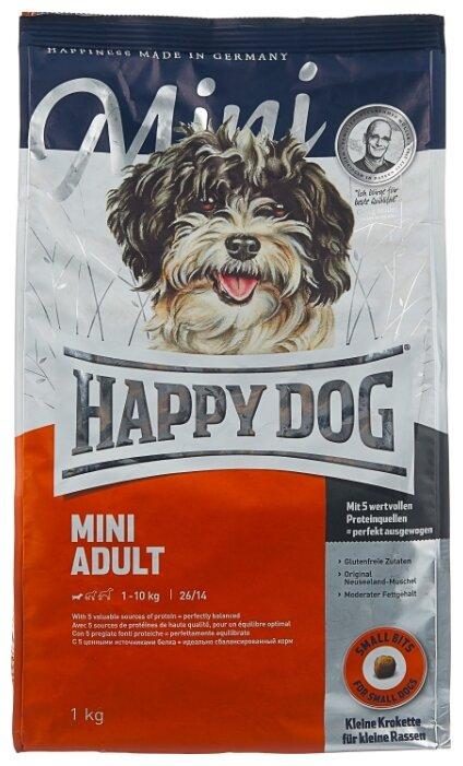 Корм для собак Happy Dog Supreme Fit & Well для здоровья костей и суставов 1 кг (для мелких пород)