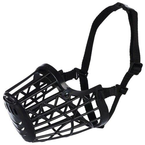 Фото - Намордник для собак TRIXIE XS 17601, обхват морды 14 см черный намордник для собак ferplast safe large обхват морды 20 30 см черный
