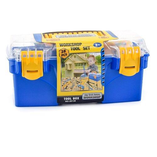 Наша игрушка Набор инструментов в кейсе 38 предметов 29139 набор инструментов komfortmax kf 1186