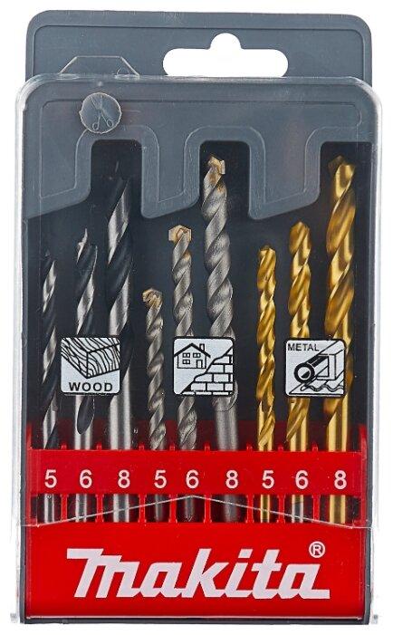 Сверло по металлу Барс, ступенчатое, 4-6-8-10-12-14-16-18-20 мм, Р6М5, шестигранный хвостовик