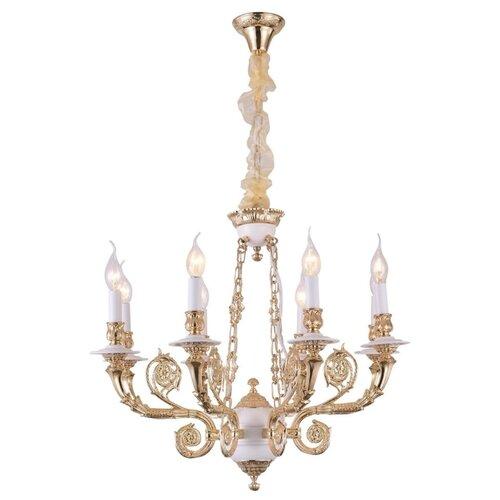 Люстра Arte Lamp Luisa A7024LM-8WG, E14, 480 Вт