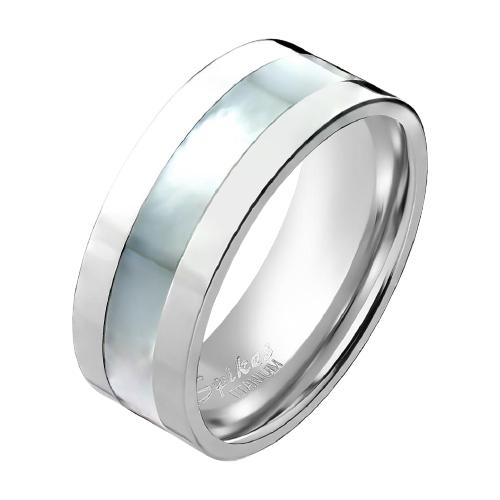 Фото - Spikes Кольцо обручальное R-TI-0580 8 мм, размер 23 кольца spikes r ti 0619 8