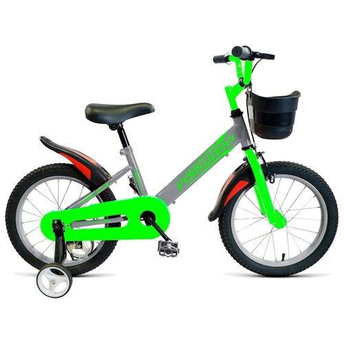 цена на Детский велосипед FORWARD Nitro 18 (2019) серый (требует финальной сборки)