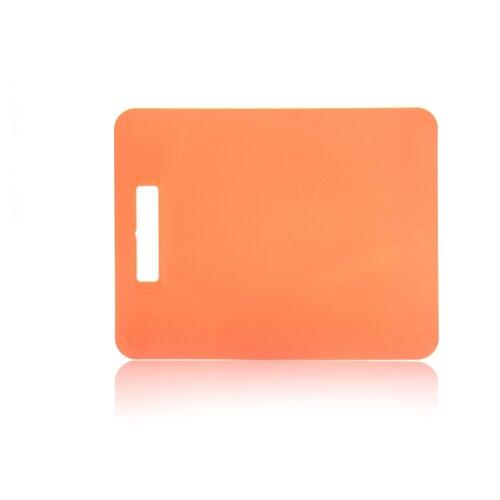 цена на Разделочная доска ПОЛИМЕРБЫТ Комфорт 80501 37х29 см оранжевый