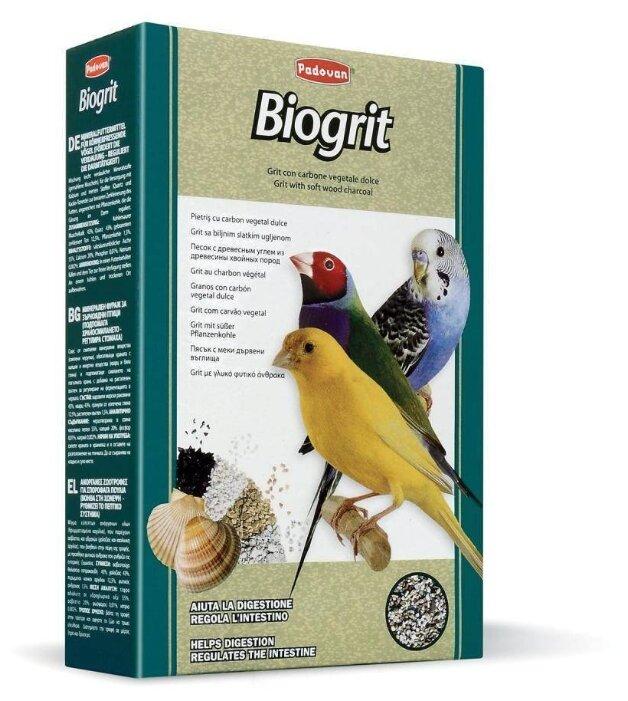 Добавка в корм Padovan Био-песок Biogrit для декоративных птиц