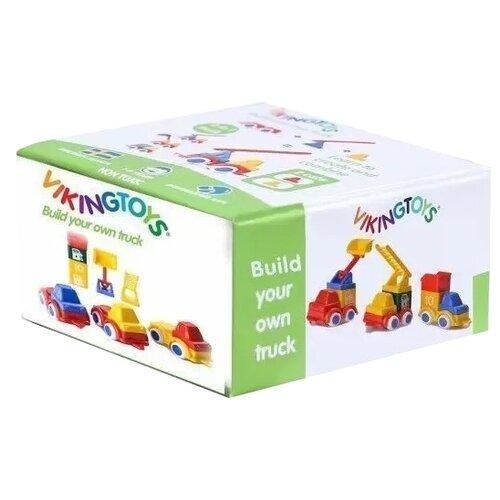 Конструктор Viking Toys Build 81623 Построй 3 машинки- преимущества, отзывы, как заказать товар за 814 руб. Бренд Viking Toys