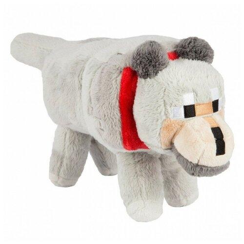 Мягкая игрушка Большой Волк из майнкрафт 36 см