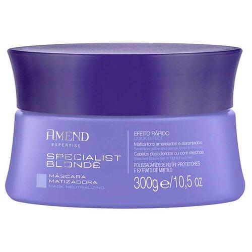 Amend Specialist Blonde Маска для волос нейтрализации желтизны, 300 г