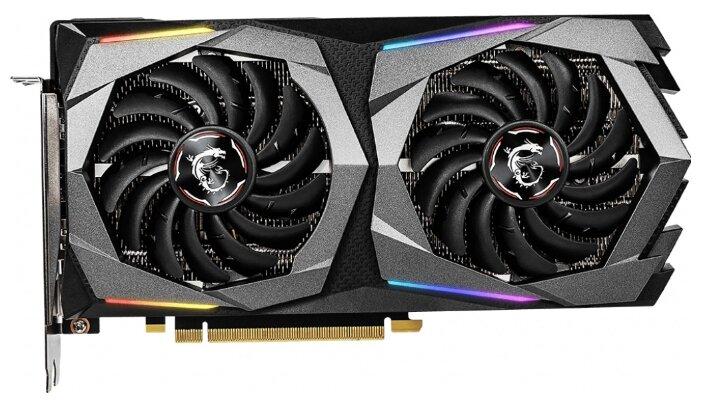 Видеокарта MSI GeForce RTX 2060 1830MHz PCI-E 3.0 6144MB 14000MHz 192 bit HDMI HDCP GAMING Z