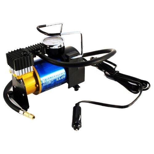 Автомобильный компрессор Вымпел КА-09 черный/синий
