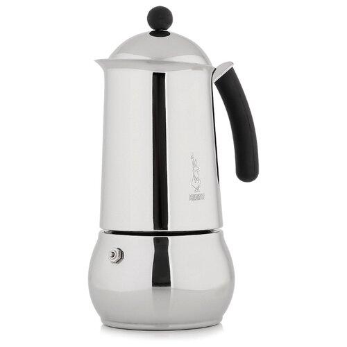 Фото - Гейзерная кофеварка Bialetti Class (4 чашки), стальной гейзерная кофеварка bialetti aeternum divina 4 порции металлик