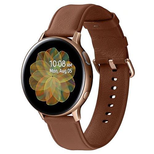 Умные часы Samsung Galaxy Watch Active2 сталь 44мм, золото умные часы samsung galaxy watch active2 cталь 40мм сталь