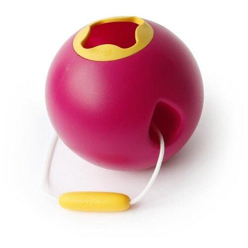 Ведро Quut Ballo Classic розовая Калипсо и спелый жёлтый