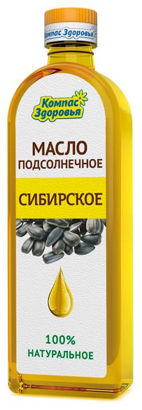 Компас Здоровья Масло подсолнечное Сибирское