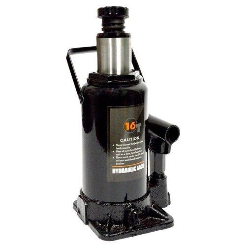 Домкрат бутылочный гидравлический WIEDERKRAFT WDK-81160 (16 т) черный набор wiederkraft wdk 65118
